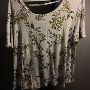 Maurices patterned tee